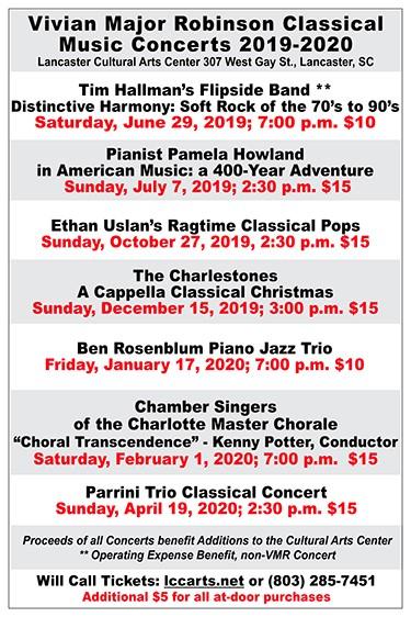 2019 Christmas Music.Vivan Major Robins Classical Music Concerts 2019 2020 The